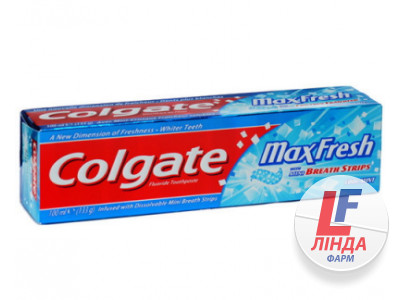 Зубная паста COLGATE MAX FRESH Cool Mint туба 100 мл-0