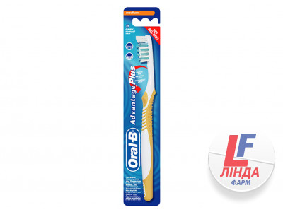 Зубная щетка ORAL-B ADVANTAGE PLUS 35, medium moyen-0